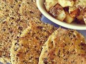 Milanesas gírgolas papas asadas queso Cheddar