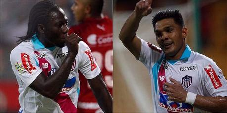 Yimmi Chará y Teófilo Gutiérrez La fórmula ofensiva del Junior de Barranquilla