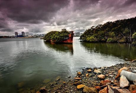 ARQUITECTURAS OLVIDADAS: SS AYRFIELD, EL BOSQUE FLOTANTE