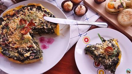 Bolas de espinacas y queso