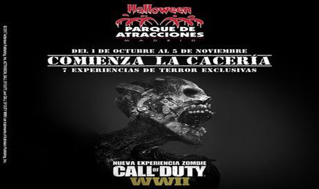 Los zombis de Call of Duty invadirán el Parque de Atracciones de Madrid