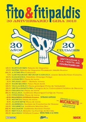 Fito & Fitipaldis agotan entradas y anuncian segundo concierto en el WiZink Center de Madrid