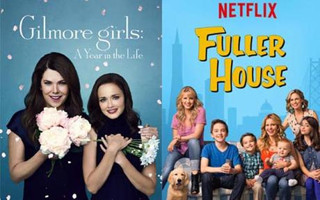 Gilmore Girls y Fuller House, favoritas para maratones de Netflix #Series #TV