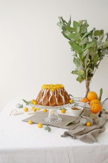 Orange Marmalade Bundt Cake #BundtBakers