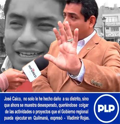 Vladimir Rojas: JOSÉ CAICO NO ES UN RIVAL PARA NADIE...