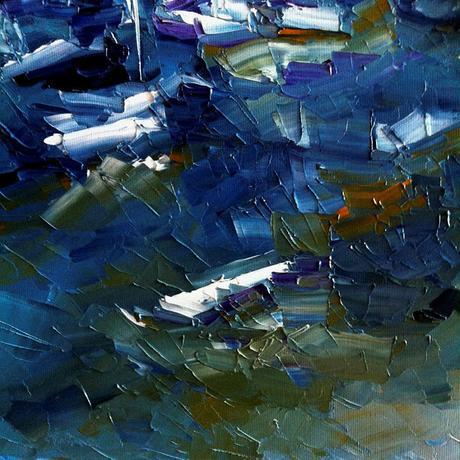 marina abstracta Marina abstraite abstrakter Jac...