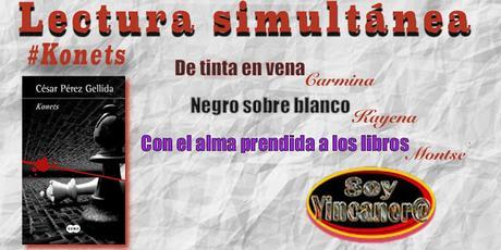 SORTEO Y LECTURA SIMULTANEA 20 #KONETS. CESAR PEREZ GELLIDA