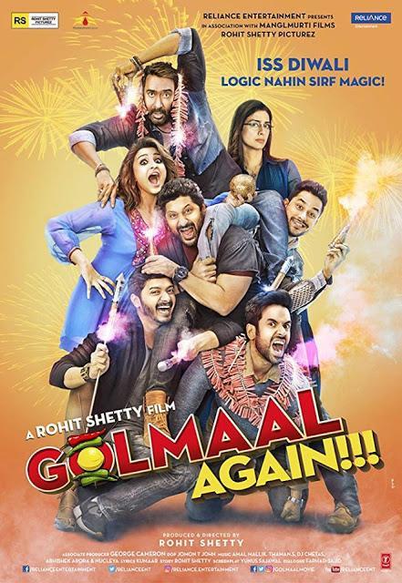 Película Bollywood en Barcelona y más ciudades de España- Golmaal Again