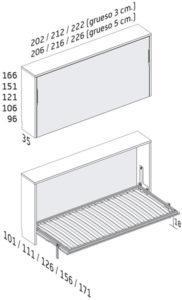 ¿Cuáles son las diferencias entre camas abatibles?