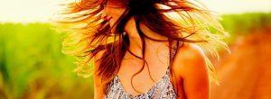 Alimentos para el cabello saludable y brillante