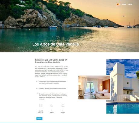 VEO Comunicación lanza calavadellaibiza.com, un portal donde invertir en Cala Vadella