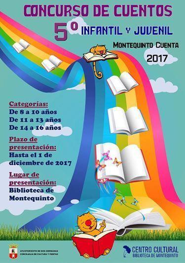 V Concurso de cuentos infantil-juvenil 'Montequinto Cuenta 2017'