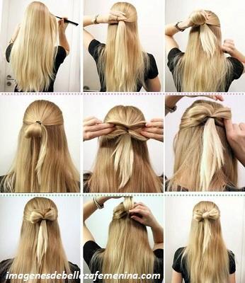 tipos de peinados para mujeres paso a paso liston