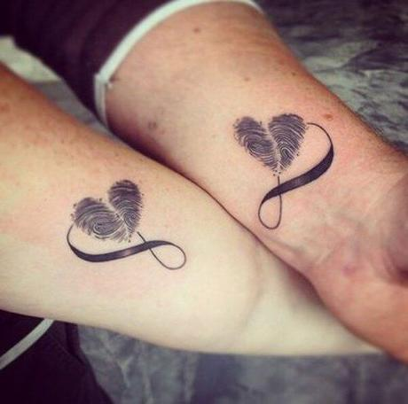 20 ideas de tatuajes para enamorados