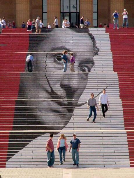 20 Street Art en escaleras gigantes que no podrás creer que existan
