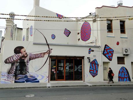 Increibles murales del artista callejero Fintan Magee