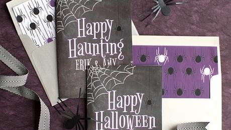 Tarjetas de Halloween personalizables que puedes imprimir a tus hij@s