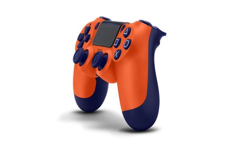 Se anuncia el Sunset Orange Dualshock4 para PlayStation