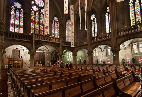 Iglesia vidireras Mulhouse Alsacia