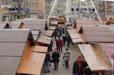 Mercado de Navidad Mulhouse Alsacia