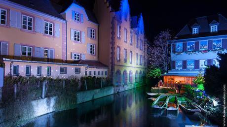 Colmar Petit Venice Alsacia Navidad viaje