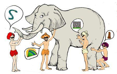 El elefante entero, por favor.