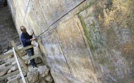Encuentran un inesperado teatro romano bajo el Muro de las Lamentaciones