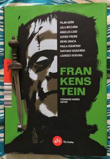 Portada del libro Frankenstein, de varios autores
