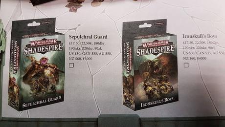 Confirmados los precios de las nuevas bandas de Shadespire