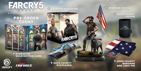 Así es la edición Resistance de FarCry 5