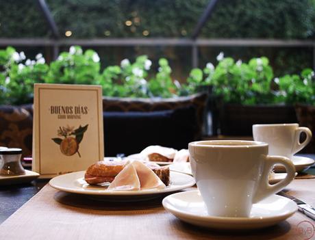 Hoteles en Barcelona el desayuno a cuerpo de rey.