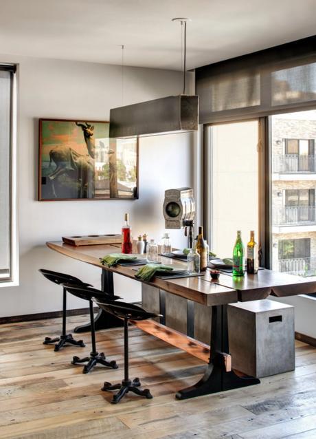 Diseño atrevido en un departamento en NY