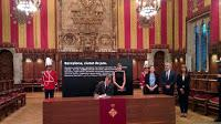 ayuntamiento de barcelona, barcelona, felipe VI, reina letizia, rey felipe, casa real
