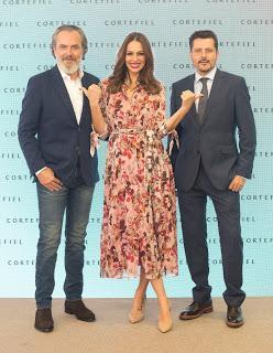 Eva González y José Coronado protagonistas de la campaña de Cortefiel