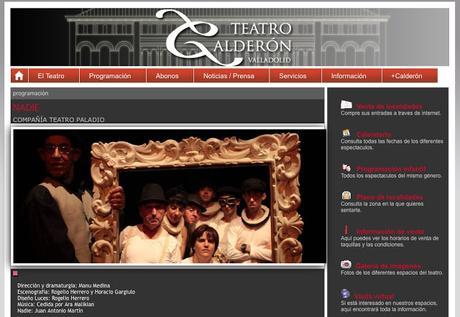 Con TE VEO en el teatro Calderon de Valladolid por manu medina.