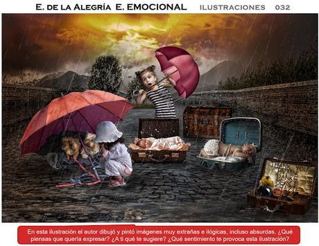EDUCACIÓN EMOCIONAL   ¿Hablamos?   Ilustraciones para trabajar la Educación Emocional en casa o en la escuela. Ilustraciones 032