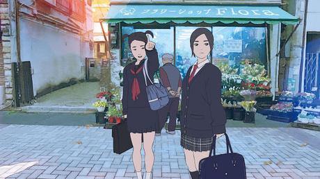 El caso de Hana y Alice: La precuela de animación rotoscópica de Shunji Iwai