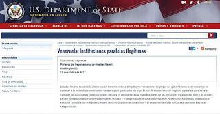 El Venezuela: Departamento de Estado emite órdenes que debe cumplir la oposición