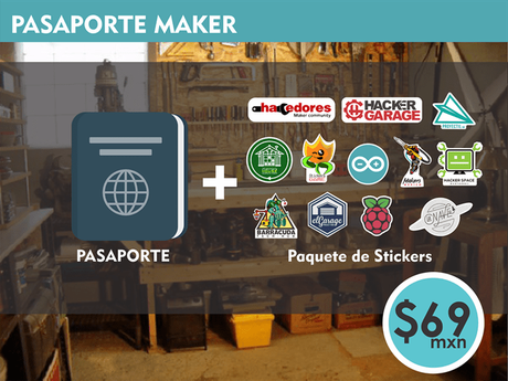 Apoya el primer Pasaporte Hackerspace en español