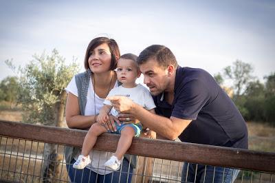 Mauro, papá y mamá