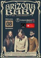 Concierto de Arizona Baby en Independance XXL