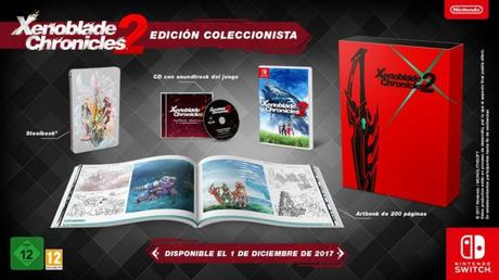 xenoblade chronicles 2 coleccionista