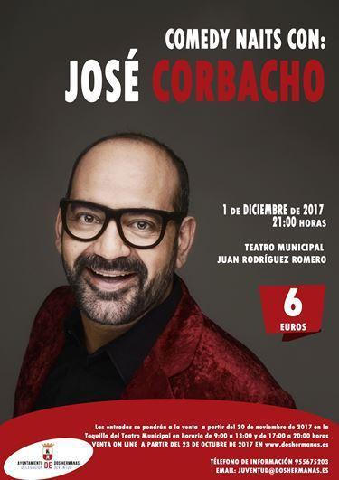 """""""Comedy Naits"""" con José Corbacho"""