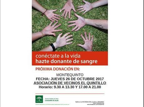 Campaña de Donación de sangre en Montequinto