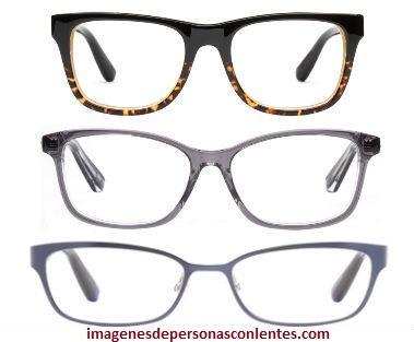 talla 40 91943 4db74 Bellos lentes de aumento para cara ovalada de mujer y hombre ...