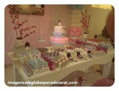 ideas para decorar un salon para 15 años mesa