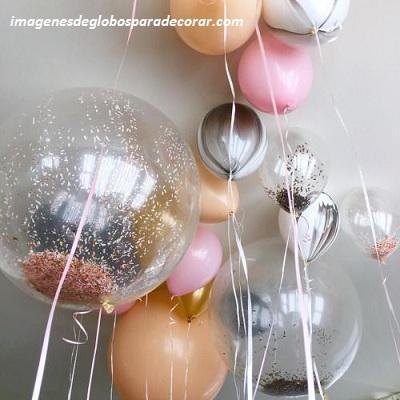 adornos para decorar fiesta de 15 años globos