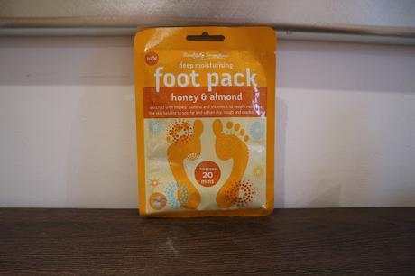 Cuidado hidratante para pies (Poundland)