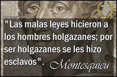 La Holgazanería y la Esclavitud