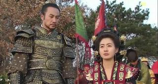 Seondeok y Kim Yushin